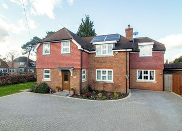 Thumbnail 5 bed detached house for sale in Florence Road, Fleet