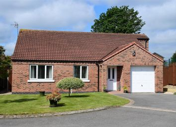 Thumbnail 3 bedroom bungalow for sale in Brisson Close, Grantham
