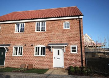 Thumbnail 2 bed end terrace house for sale in King Edgar Close, Ely