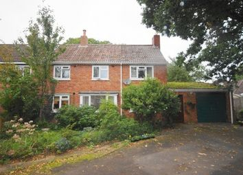 Thumbnail 3 bed semi-detached house for sale in Broadmead Road, Three Legged Cross, Wimborne, Dorset