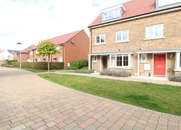 Thumbnail 4 bed end terrace house to rent in Wagtail Walk, Finberry, Ashford