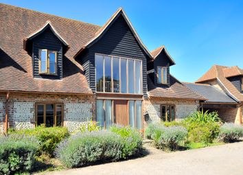 Thumbnail 4 bed semi-detached house for sale in Forest Lane, Clapham, Worthing