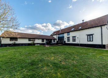 Thumbnail 5 bed barn conversion for sale in The Common, Rickinghall, Diss