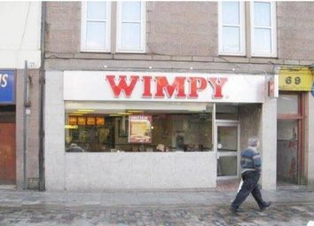 Thumbnail Restaurant/cafe for sale in Marischal Street, Peterhead