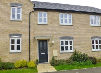Thumbnail 3 bed terraced house for sale in Kempton Drive, Barleythorpe, Oakham