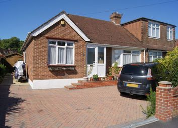 Thumbnail 2 bed semi-detached bungalow for sale in Serpentine Road, Fareham