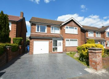 Thumbnail 4 bed detached house for sale in Queensway, Heald Green, Cheadle
