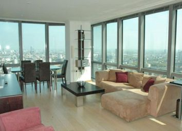 Thumbnail 2 bed flat to rent in One West India Quay, 24 Hetsmere Road