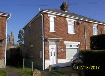 Thumbnail 3 bedroom semi-detached house to rent in Chapnall Road, Wisbech