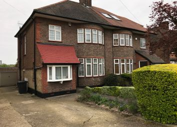 Thumbnail 3 bed semi-detached house to rent in Cissbury Ring South, West Finchley