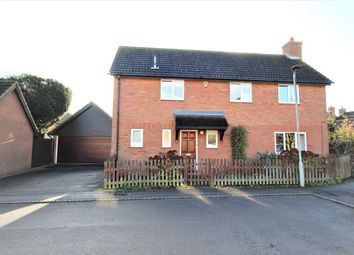 Thumbnail 4 bed detached house for sale in Amberley Gardens, Bedford