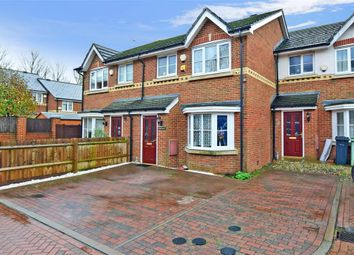 3 bed terraced house for sale in Bosman Close, Maidstone, Kent ME16