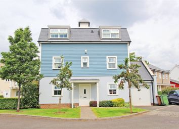 Thumbnail 4 bedroom detached house for sale in Heatherlea Grove, Worcester Park