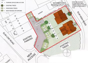 Thumbnail Land for sale in Elm High Road, Elm, Wisbech
