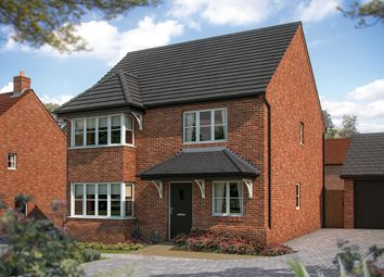 "Thumbnail 4 bed detached house for sale in ""The Canterbury"" at Irthlingborough Road, Wellingborough"