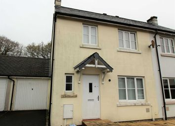 Thumbnail 3 bed semi-detached house to rent in Boconnoc Avenue, Callington
