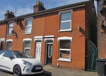 Thumbnail 2 bed end terrace house to rent in Cullingham Road, Ipswich