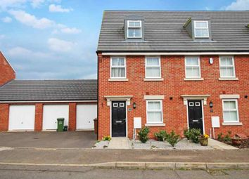 Thumbnail 3 bed end terrace house to rent in Clarendon Close, Corby