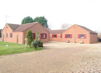 Thumbnail 4 bed bungalow for sale in Wiggenhall St Mary Magdalen, Kings Kynn, Norfolk