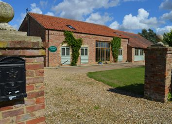 Thumbnail 6 bed barn conversion for sale in Lords Bridge, Islington, King's Lynn