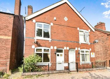 Thumbnail 3 bedroom terraced house to rent in Vicarage Road, Woodville, Swadlincote