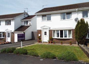 Thumbnail 3 bed semi-detached house for sale in Llwynderw, Three Crosses, Swansea
