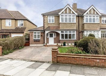 Thumbnail 4 bed semi-detached house for sale in Wellesley Crescent, Twickenham