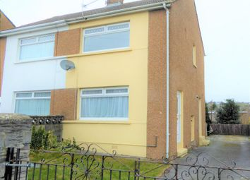 Thumbnail 2 bed semi-detached house for sale in Shakespeare Avenue, Cefn Glas, Bridgend