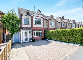 Thumbnail 4 bed semi-detached house for sale in Stakes Road, Purbrook, Waterlooville