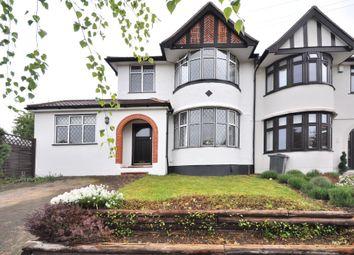 Thumbnail 3 bed semi-detached house for sale in Westhurst Drive, Chislehurst, Kent