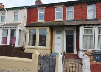 Thumbnail 3 bedroom property to rent in Gorton St, Blackpool