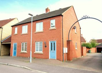 Thumbnail 2 bed terraced house for sale in Flawn Way, Eynesbury, St. Neots