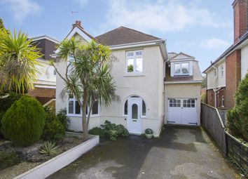Thumbnail 4 bedroom detached house for sale in Twemlow Avenue, Poole Park, Poole