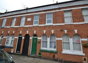 Thumbnail 2 bed terraced house to rent in Edward Road, Clarendon Park, Leicester