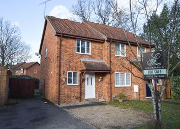Thumbnail 2 bed semi-detached house for sale in Nether Vell-Mead, Church Crookham, Fleet