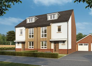 """Thumbnail 4 bed semi-detached house for sale in """"Grantham"""" at Homington Avenue, Coate, Swindon"""