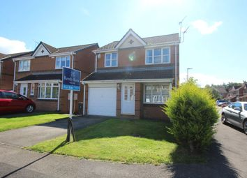 Thumbnail 3 bedroom detached house for sale in St. Cuthberts Drive, Sacriston, Durham