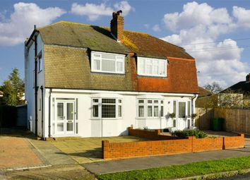 Thumbnail 3 bed semi-detached house for sale in Lakehurst Road, Ewell, Surrey