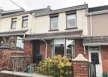 Thumbnail 3 bed terraced house for sale in Fields Road, Tredegar