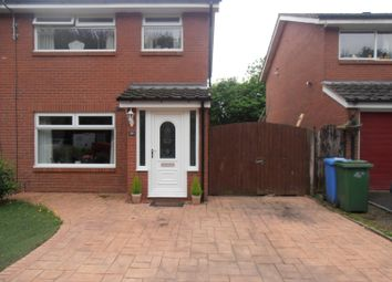 Thumbnail 3 bed property to rent in Havisham Close, Birchwood, Warrington