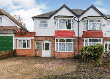 Thumbnail 3 bed semi-detached house for sale in Stonerwood Avenue, Hall Green, Birmingham