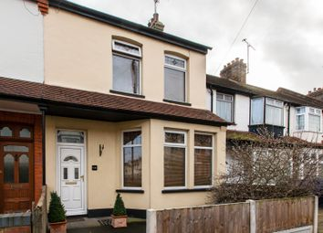 Thumbnail 3 bedroom end terrace house for sale in Central Avenue, Southend-On-Sea