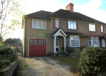 Thumbnail 3 bed semi-detached house for sale in Vicarage Lane, Bovingdon, Hemel Hempstead
