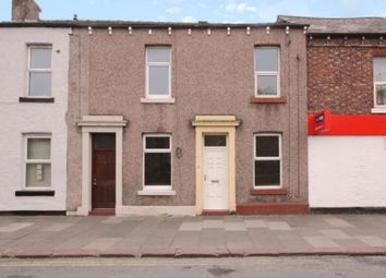 Thumbnail 1 bed terraced house to rent in Fusehill Street, Carlisle, Cumbria