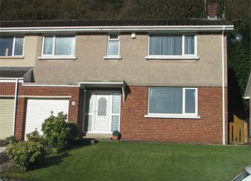 Thumbnail 3 bed semi-detached house for sale in Pant Y Sais, Jersey Marine, Neath, West Glamorgan