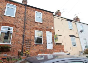 Thumbnail 2 bed terraced house for sale in Alexandra Terrace, Uphill, Lincoln