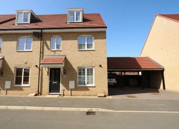 Thumbnail 3 bed end terrace house for sale in Barbados Row, Newton Leys, Bletchley, Milton Keynes