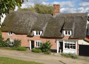 Thumbnail 4 bed cottage for sale in The Green, Hartest, Bury St. Edmunds