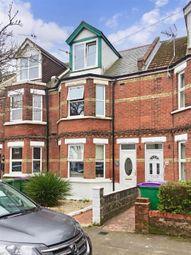 Thumbnail 3 bedroom terraced house for sale in Morehall Avenue, Folkestone, Kent
