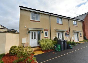 Thumbnail 2 bed end terrace house for sale in Burrough Fields, Cranbrook, Exeter, Devon
